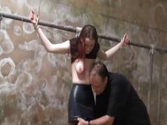 svázání, výprask, prsa, špinavý sex, bdsm