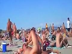 публично, двойка, суингъри, плаж, изумителни