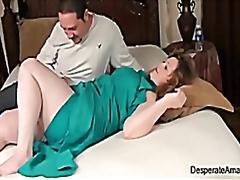 wanita gemuk, ibu seksi, matang