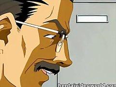 аниме, анимация, хентай, масов секс