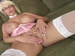 блондинки, чорапи, мастурбация