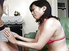 прелъстяване, мама, цици, милф, азиатки