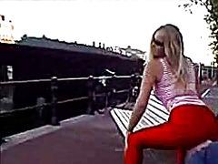 блондинки, женска доминация, лице