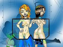 анимация, аниме, комикси