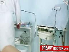 медицински, вагина, сливи, фетиш, доктор, гинеколог