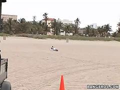 समुद्र तट, आकर्षक महिला, पिछवाड़ा, गांड